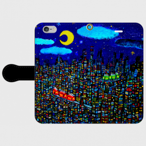 SOLD!! smartphone case/city creema/handmade in Japan