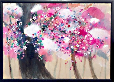ON SALE!! CHERRY BLOSSOMS 51x72cm 2015  Gallery Tagboat