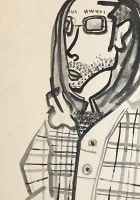 new!! 72x54cm aquarell on paper 2017 #art #portrait
