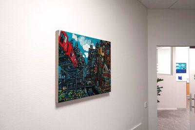 """Solo Exhibition/""""Landschaft/Europa und Japan"""" Sammlungs ausstellung/Mössingen Germany"""