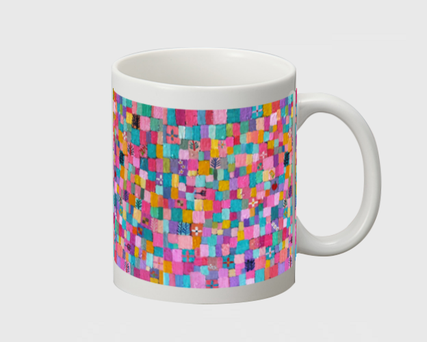 SOLD | mug  |  Spring colour | otanitaro.com | #creema  #handmade