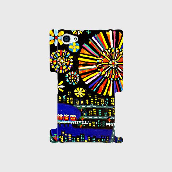 SOLD | Smartphone case  |  HANABI | otanitaro.com | #creema  #handmade