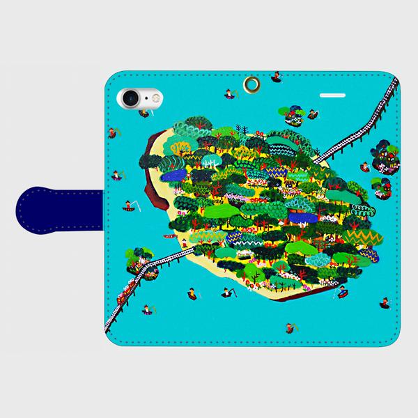 SOLD | Smartphone Case  |  summer island | otanitaro.com | #Minne #Mode