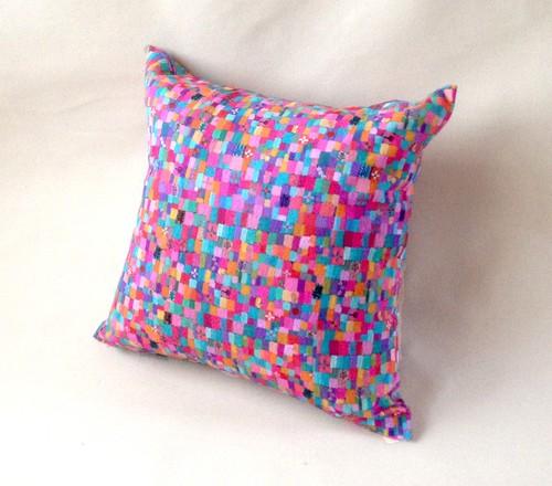 SOLD   Cushion     Spring colour    otanitaro.com   #creema  #handmade