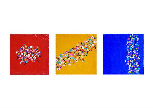 NOW ON SALE | small cherry Blossoms | 2015 | KYURYUDO | TOKYO | JAPAN #contemporaryart