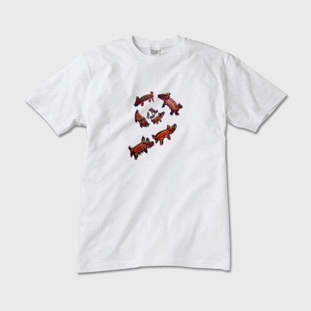 NOW ON SALE | T- Shirts  |   Uri Bow  | otanitaro.com | #minne  #handmade