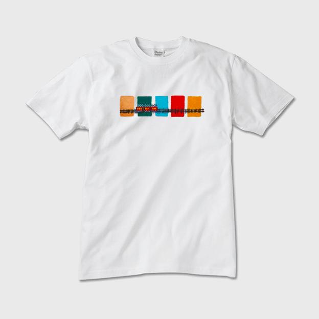 SOLD | T- Shirts  |   Red Train  | otanitaro.com | #minne  #handmade