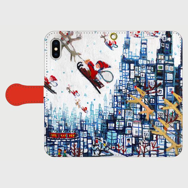 ON SALE | winter city | 2018 | CREEMA | TOKYO | JAPAN #contemporaryart #iPhone #handmade