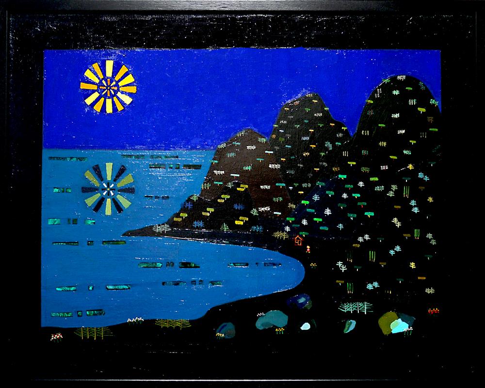 ON SALE | Sea of night | 55 x 70 cm |  2008 | KYURYUDO | TOKYO | JAPAN #contemporaryart
