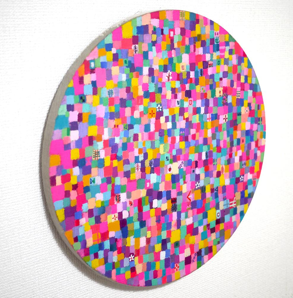 NEW | SPRING COLOUR | 41 cm | oil x canvas | 2019 | #contemporaryArt