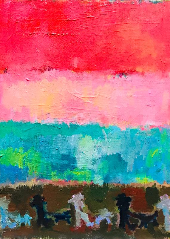 Exhibit this Picture   WORKS   33 x 24 cm   oil x canvas board   2019   #contemporaryArt