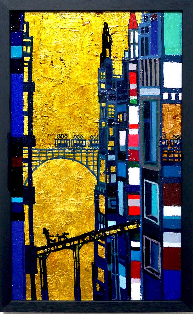 ON SALE | Building |  41 x 24 cm | Kyuryudo-online | TARO OTANI | Cityscapes |   | TOKYO | GALLERY LA RUCHE