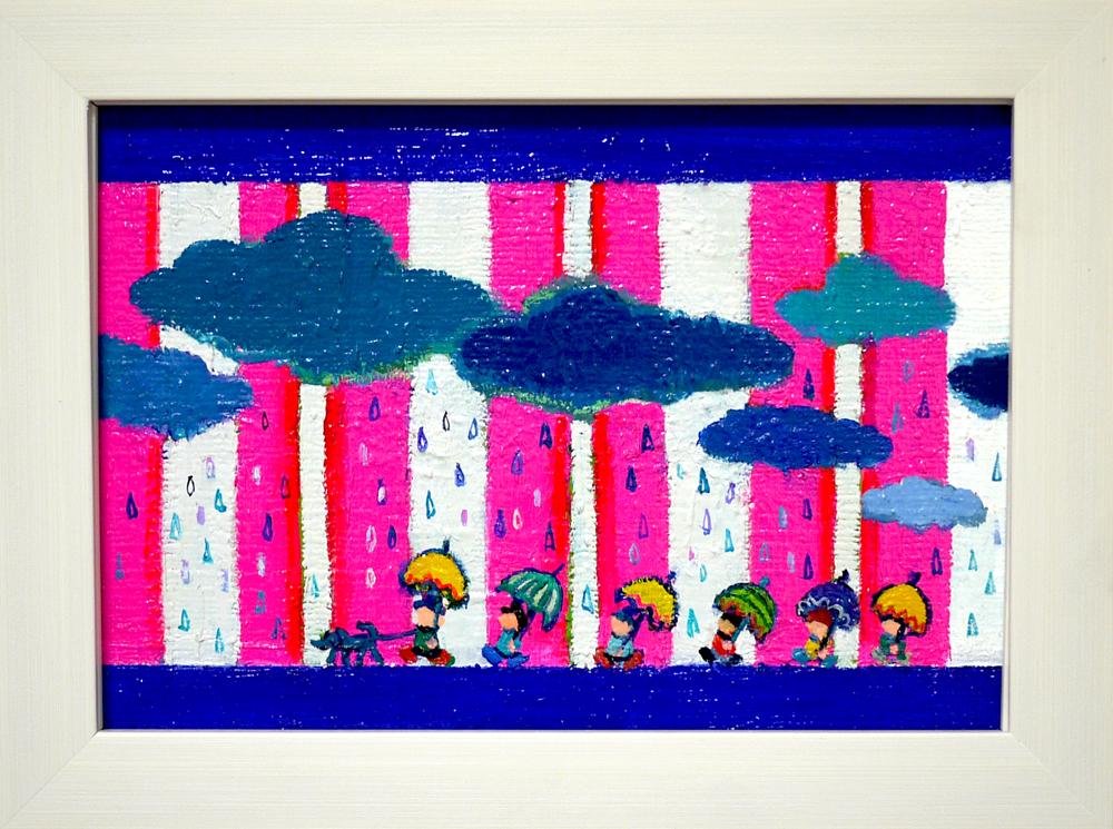 ON SALE | Rainy day |  15 x 22 cm | Kyuryudo-online | TARO OTANI | Cityscapes |   | TOKYO | GALLERY LA RUCHE