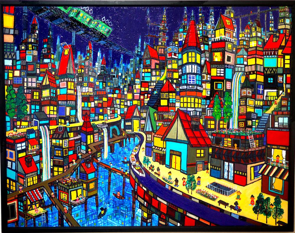 ON SALE |  Water Town |  Kyuryudo-online| TARO OTANI | Cityscapes |   | TOKYO | GALLERY LA RUCHE