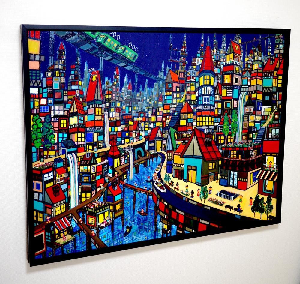 Exhibition works will be sale Kyuryudo-online| TARO OTANI | Cityscapes |   | TOKYO | GALLERY LA RUCHE