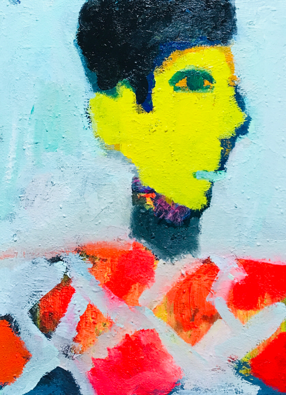 Works | 41 x 31 cm | oil x canvas board | 2019 | #contemporaryArt