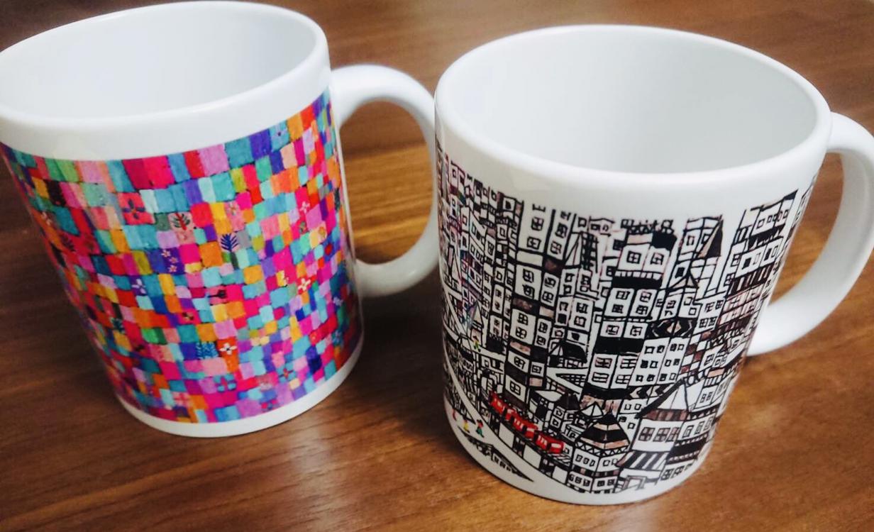Mug | city | spring colour | 2019 #handmade #print