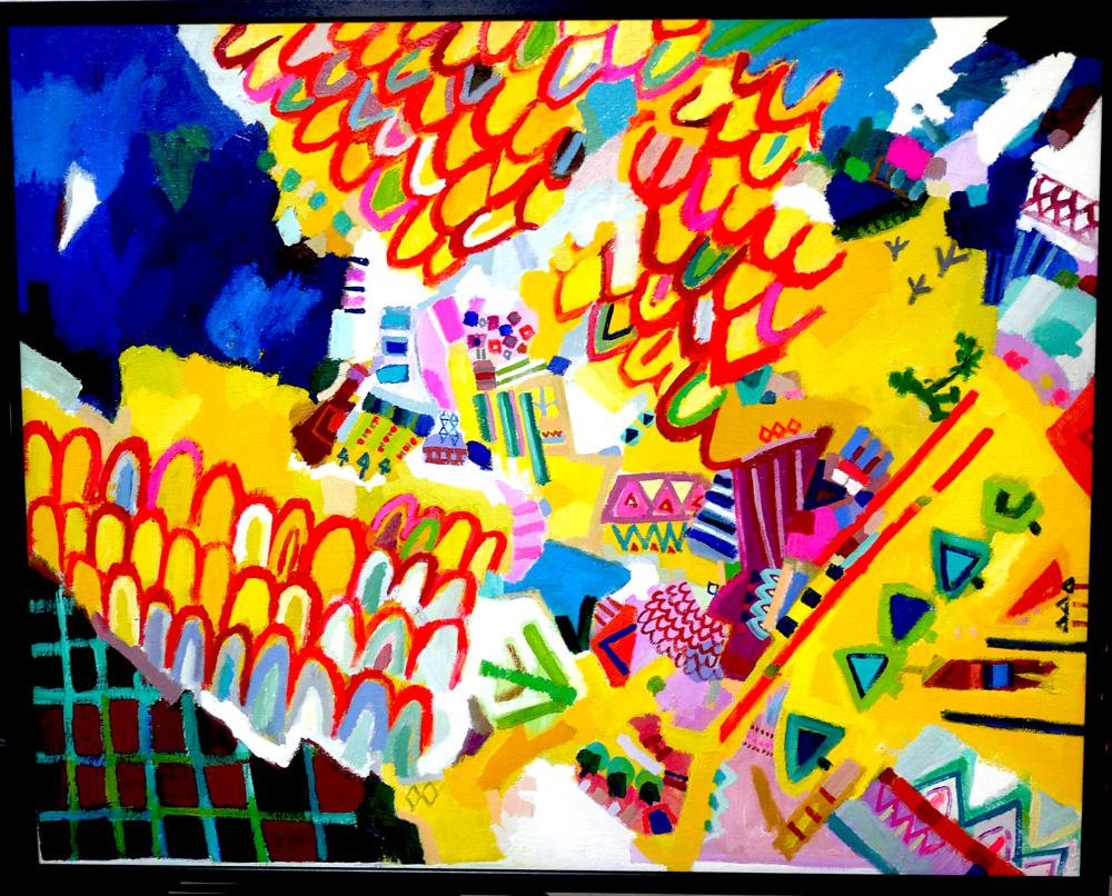 ON SALE | Traveler | 80 x 100 cm | oil x canvas | 2019 | GALLERY TAGBOAT | JAPAN #contemporaryArt
