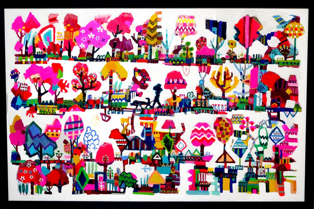ON SALE | Spring Park |  65 x 100 cm | Kyuryudo-online | TOKYO
