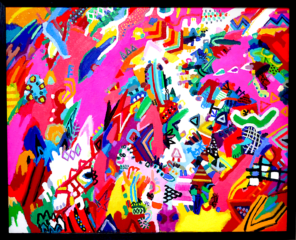 ON SALE |  Traveler | oil x canvas | 80 x 100 cm | 2019 | GALLERY TAGBOAT | JAPAN #contemporaryArt