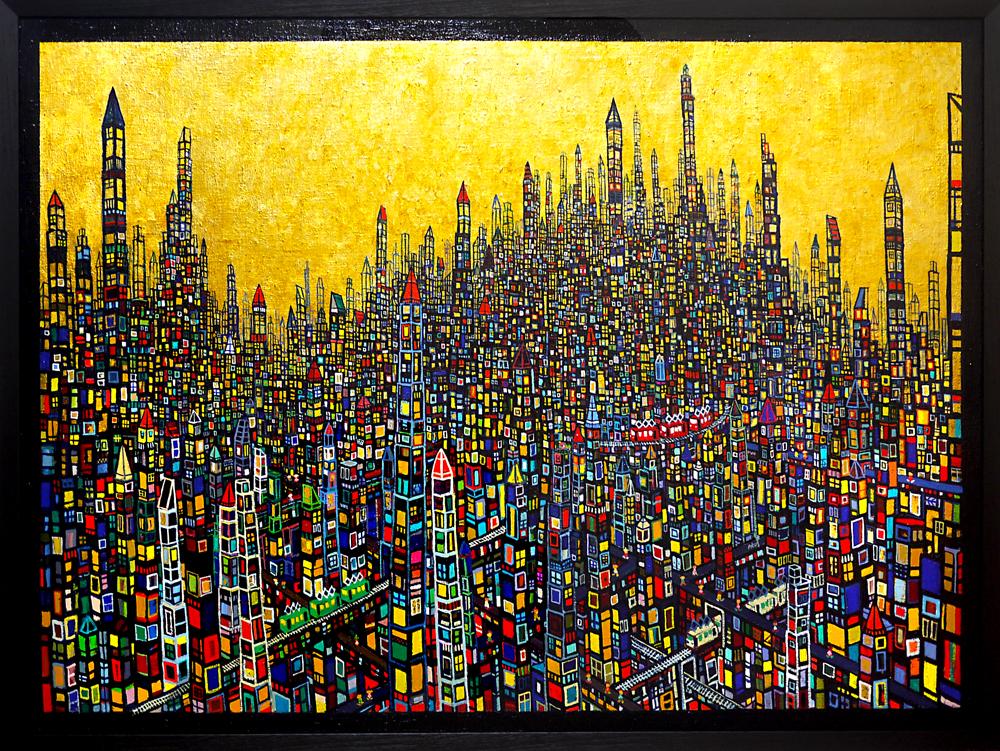 Exhibit this picture | Gold Town | Next Exhibition | 3331 Art Fair 2020 | Tokyo | 18.03-22.03.2020