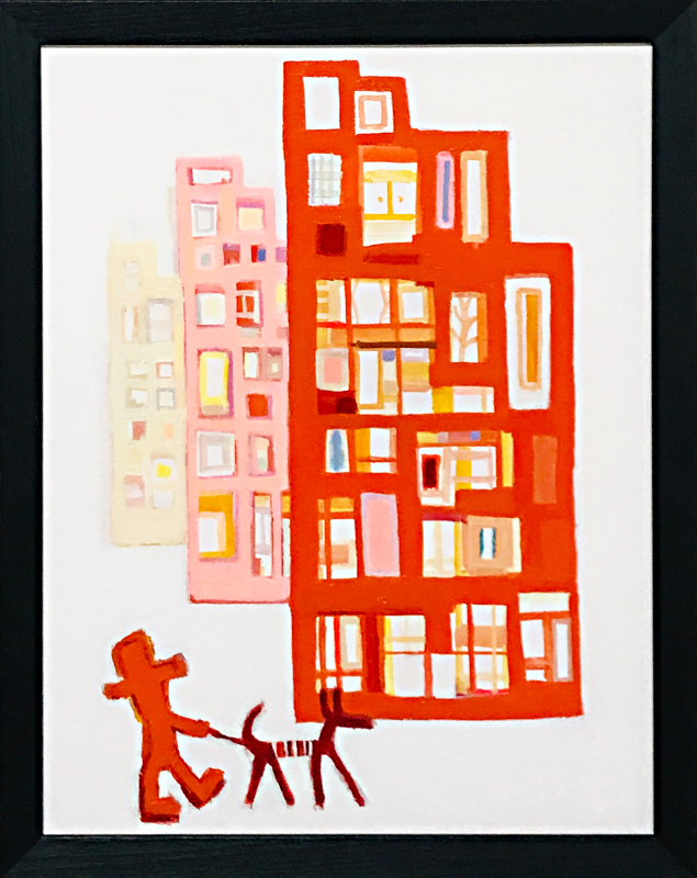 NOW ON SALE | Building | 53 x 41 cm | Kyuryudo | 3331 Art fair | 2020 Japan #contemporaryart