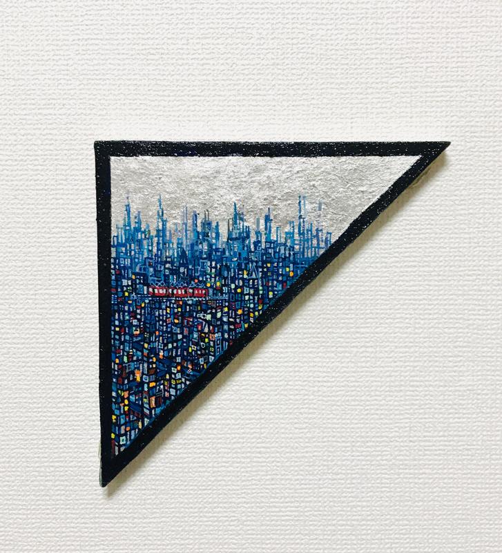 NEW | EXHIBIT THIS PICTURE | Blue City | 25 x 35 cm | 2020 | Next Exhibition | 3331 Art Fair 2020 | Tokyo | 18.03-22.03.2020