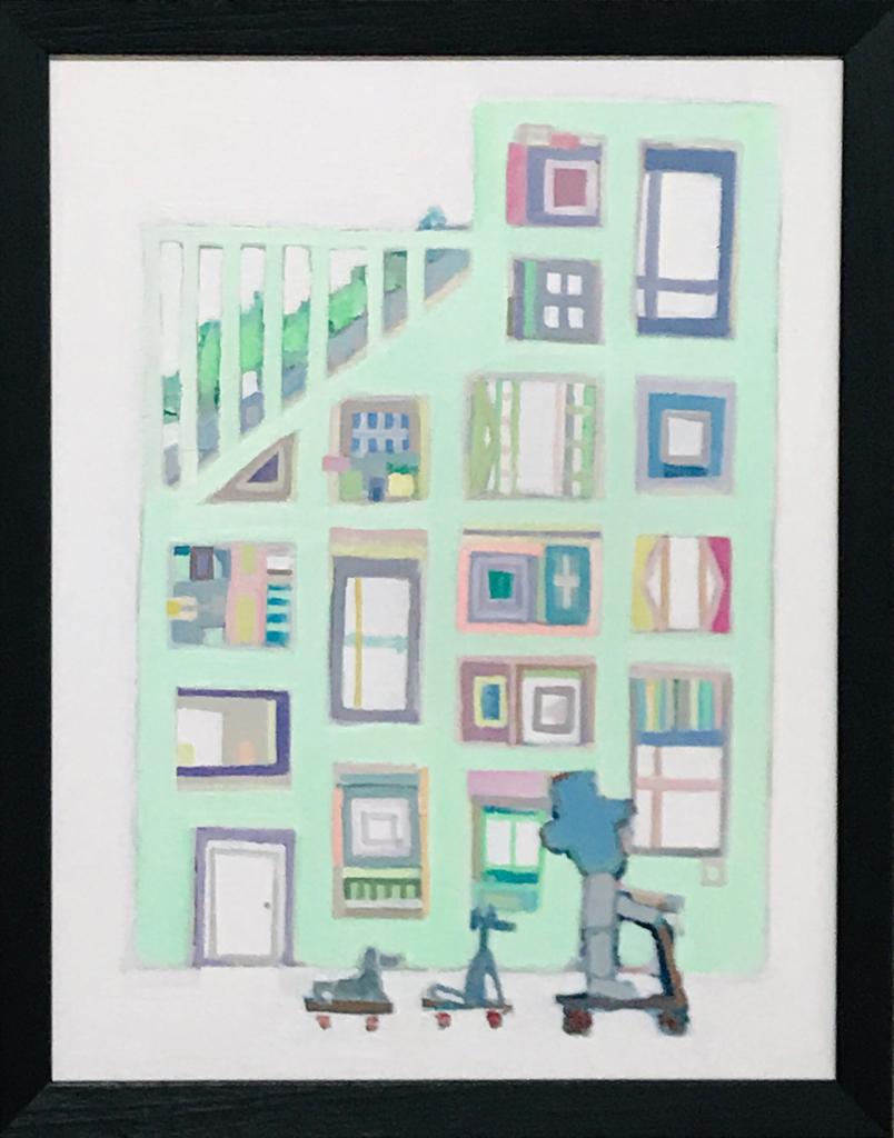 NEW | EXHIBIT THIS PICTURE | Building | 53 x 41 cm | 2020 | Next Exhibition | 3331 Art Fair 2020 | Tokyo | 18.03-22.03.2020