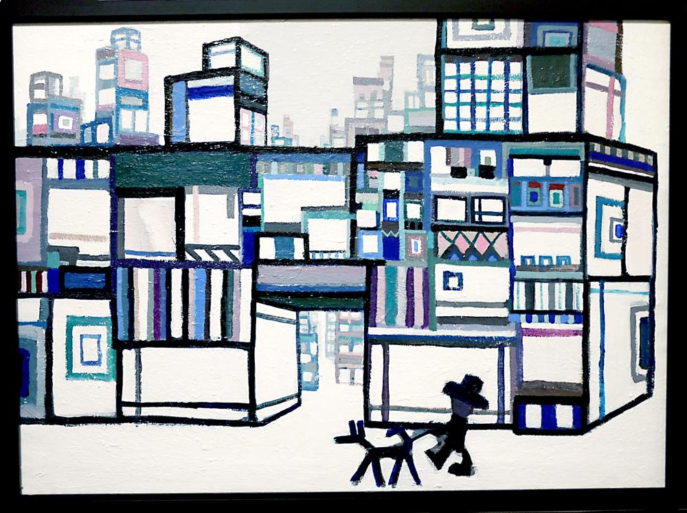 ON SALE | City Walker | oil x canvas | 53 x 72 cm | 2020 | GALLERY TAGBOAT | JAPAN #contemporaryArt