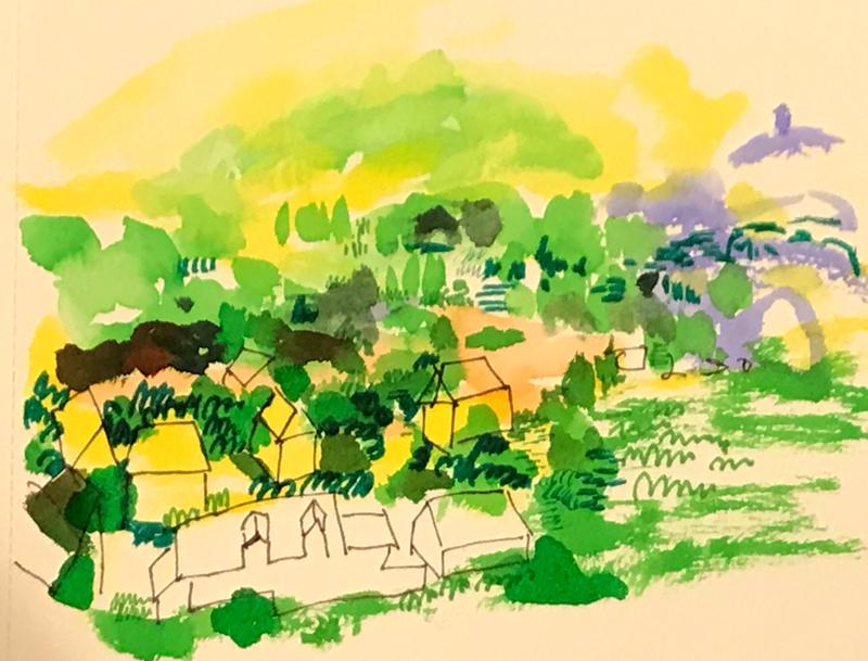 NEW | watercolour x paper | 17 x 21 cm | 2020   #contemporaryart