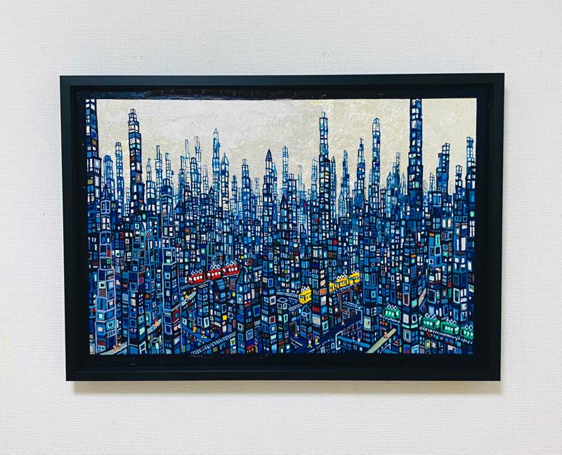 ON SALE | blue city | 53 x 72 cm |  2020 | KYURYUDO | TOKYO | JAPAN #contemporaryart