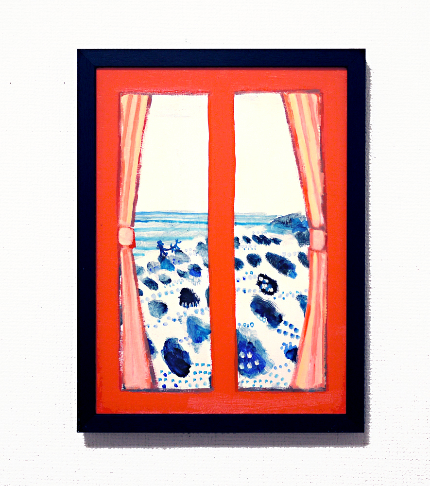 NOW ON SALE | orange room | 33 x 24 cm |  2020 | KYURYUDO | TOKYO | JAPAN #contemporaryart