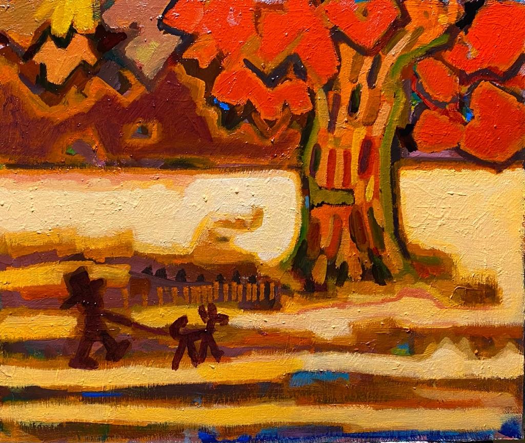 Works | 38 x 45 cm | oil x canvas | 2020 | #contemporaryArt