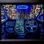 ON SALE | NIGHT DRAIVE | 38 x 45 cm | art scouter | TOKYO |  2018 | JAPAN #contemporaryart