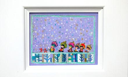 SOLD | winter day | oil x canvas board | 2019 | 14 x 18cm | kyuryudo