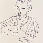 NEW | Drawing x paper | 15 x 15 cm | 2020 #contemporaryart