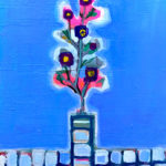 SOLD | WINTER FLOWER | 41 x 31 cm | 2021 | GO TO GERMANY #contemporaryart