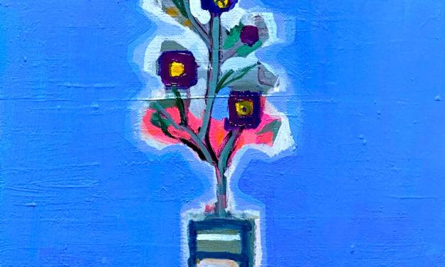 SOLD | WINTER FLOWER | 41 x 31 cm | 2021 | GO TO GERMANY #contemporaryart