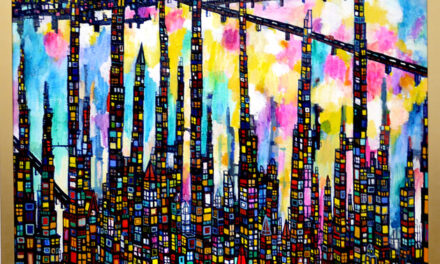 SOLD   city   130 x 80cm   oil x canvas    2018    TAGBOAT   JAPAN #contemporaryArt