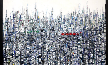 ON SALE | city | 80 x 100 cm | kyuryudo | TOKYO | JAPAN #contemporaryart