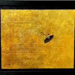 ON SALE | Fisher | 22x27cm | oil x canvas board  | 2017 | ART STICKER | JAPAN #contemporaryArt