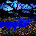 Dream Fishing   120x250cm   oil x canvas   2013 #contemporaryArt