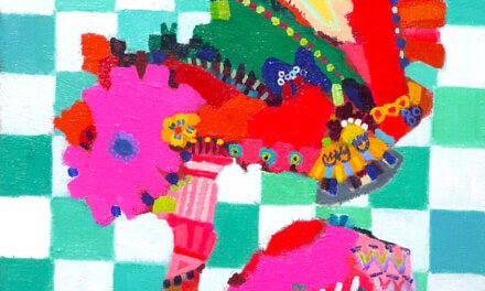 ON SALE | Flowers | 41x31cm | oil x canvas | 2019 | ART STICKER | JAPAN #contemporaryArt