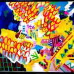 ON SALE | traveler | 80x100cm |  GALLERY TAGBOAT #contemporaryArt