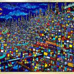 ON SALE | city | 97 x 130 cm | kyuryudo #contemporaryart