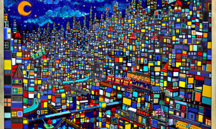 ON SALE | city | 97 x 130 cm | kyuryudo #contemporaryart