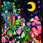 SOLD | spring night | 53 x 45cm | oil x canvas board | 2020 |  TAGBOAT #Art