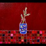 SOLD | goldfish | 53 x 72cm | oil x wood panel | 2021 |  TAGBOAT #Art